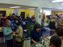 Tsumani Help Event in Yellowknife Mar20,2011
